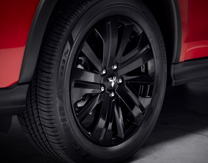 The black 18 Inch alloy wheels are the finishing touch that sets the ASX Black Edition apart.