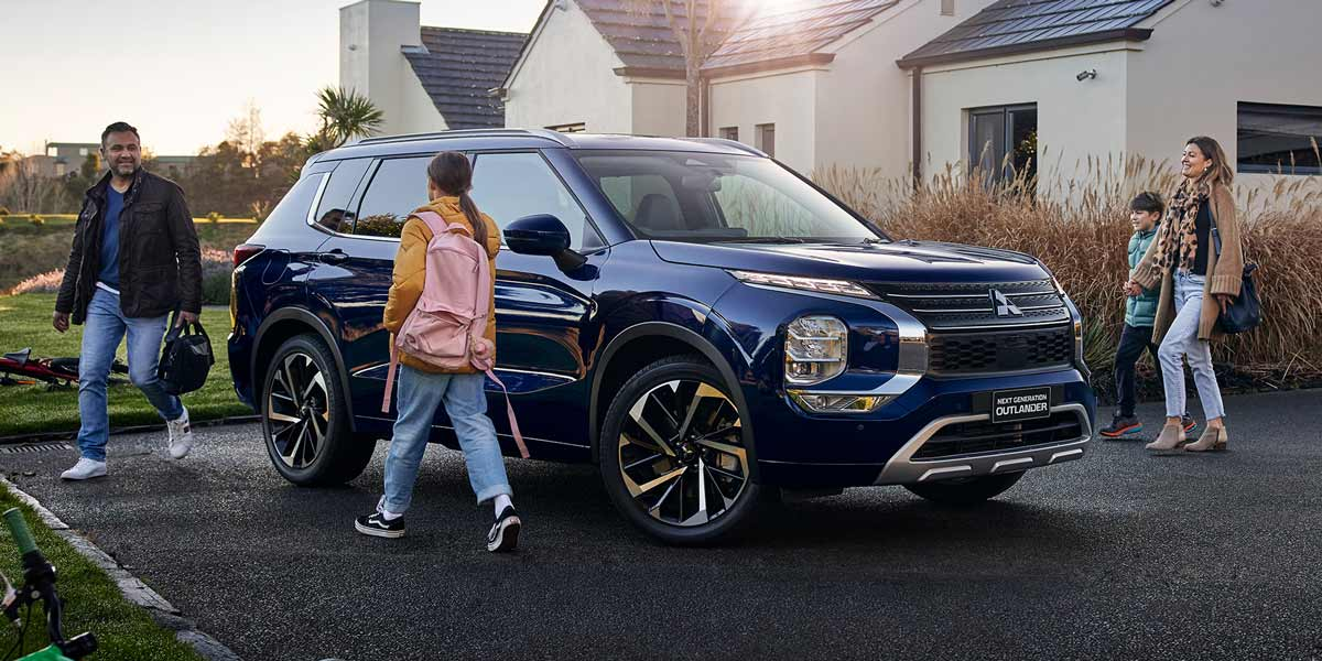 Next level safety Across the range, new Outlander protects you and your family with 8 airbags and a full suite of advanced safety and driver assist systems.